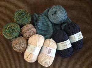 Holiday yarn